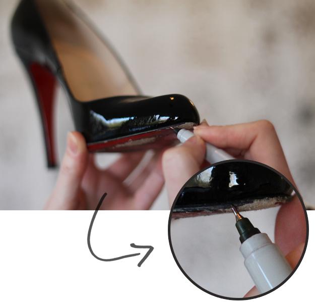 DIY shoe repairs