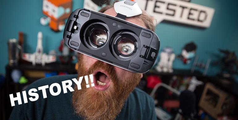 history of virtual reality technology