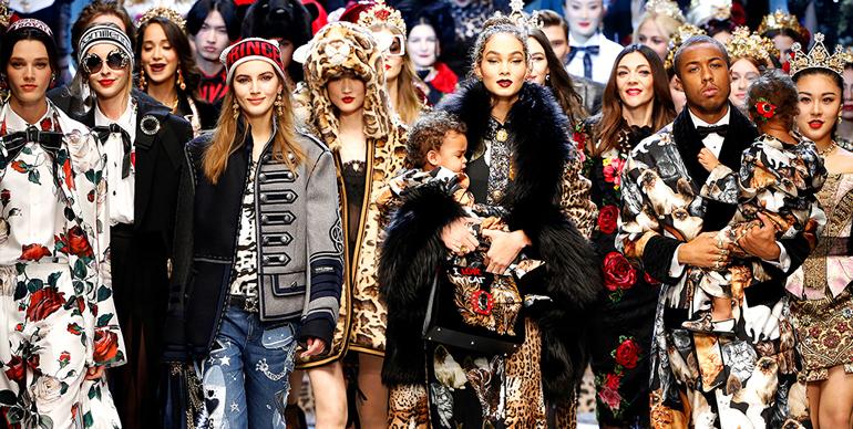 Fall 2017 Dolce & Gabbana fashion show