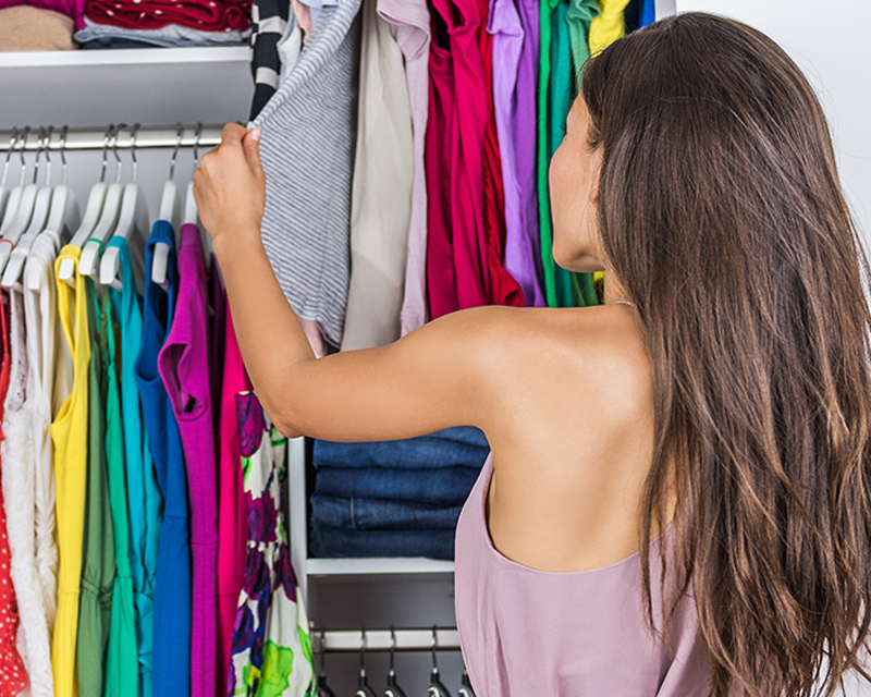 how to sort your clothes