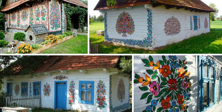 Zalipie Poland