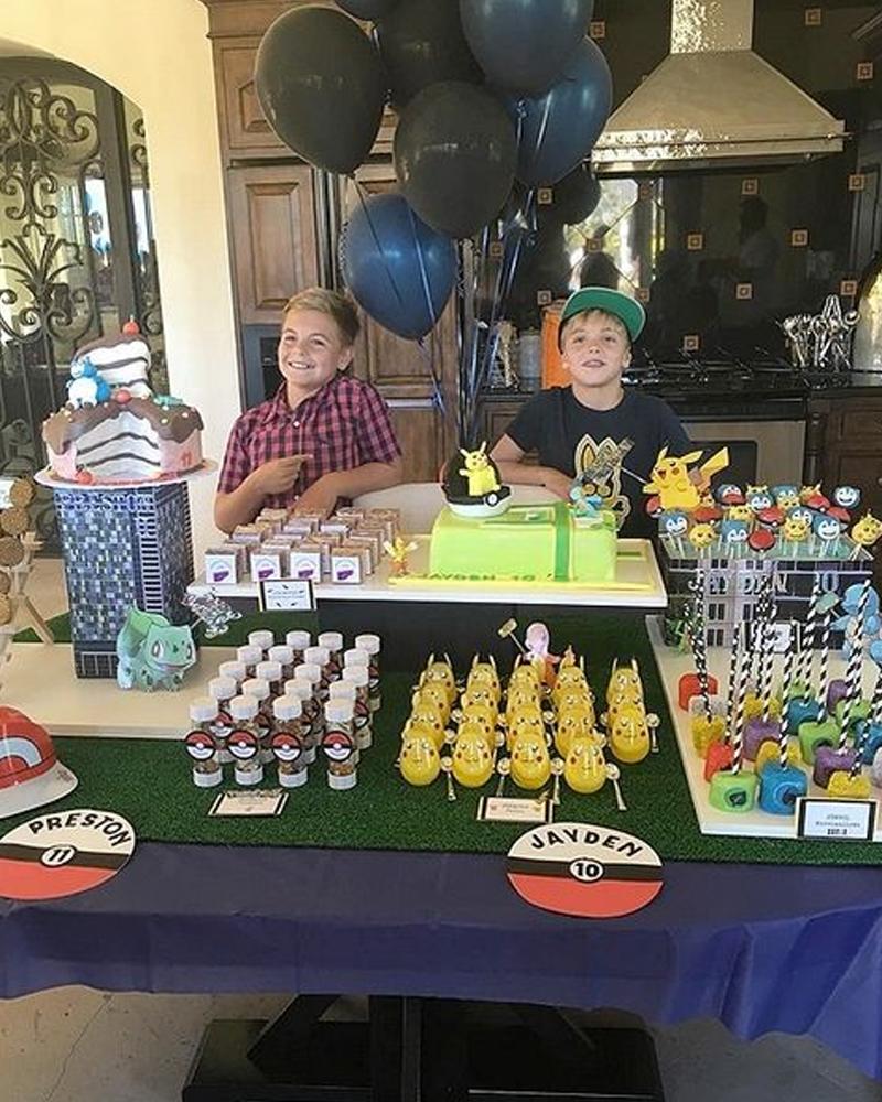celebrity birthday parties