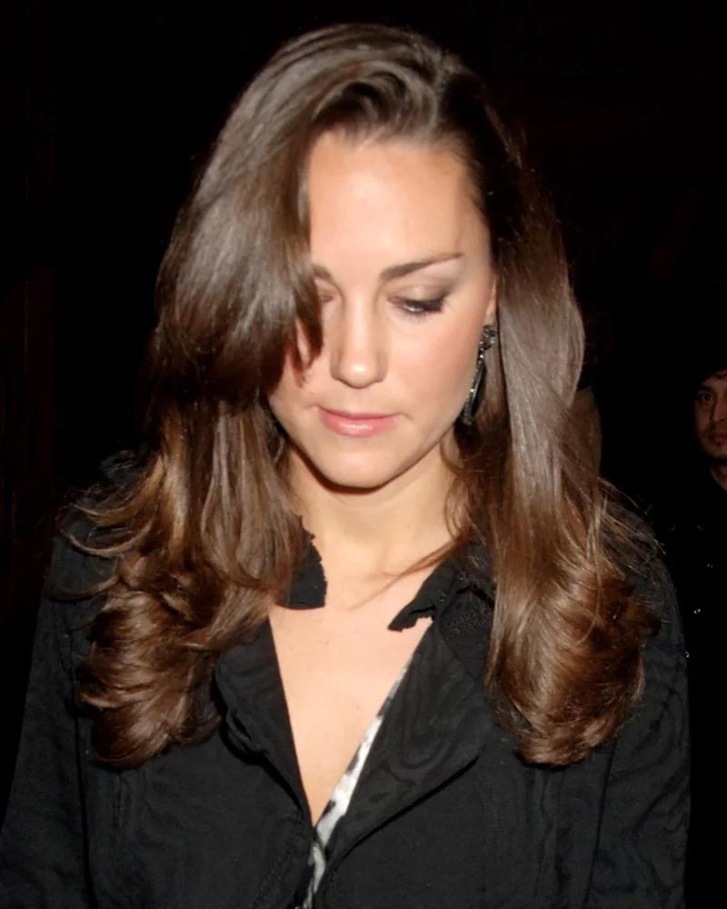 Kate Middleton hair transformation