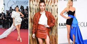 celebrities wearing 80s vintage fashion