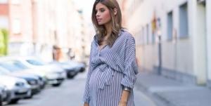 stylish maternity fashion
