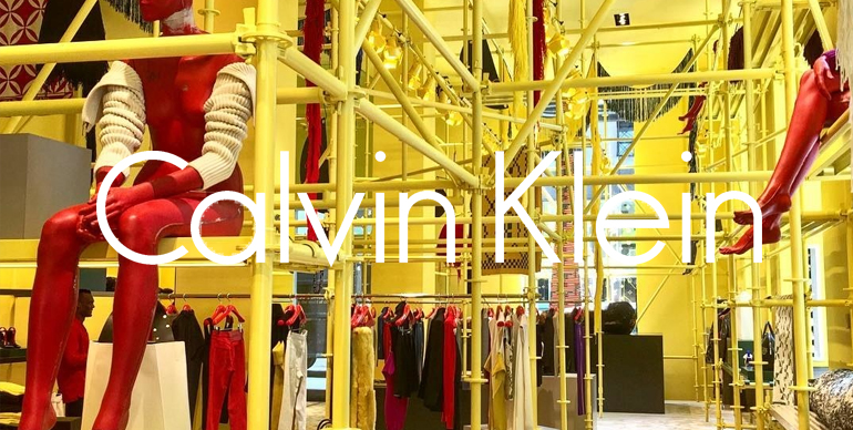 Calvin Klein new Madison Avenue store