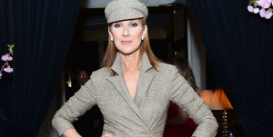 celine dion couture fashion week