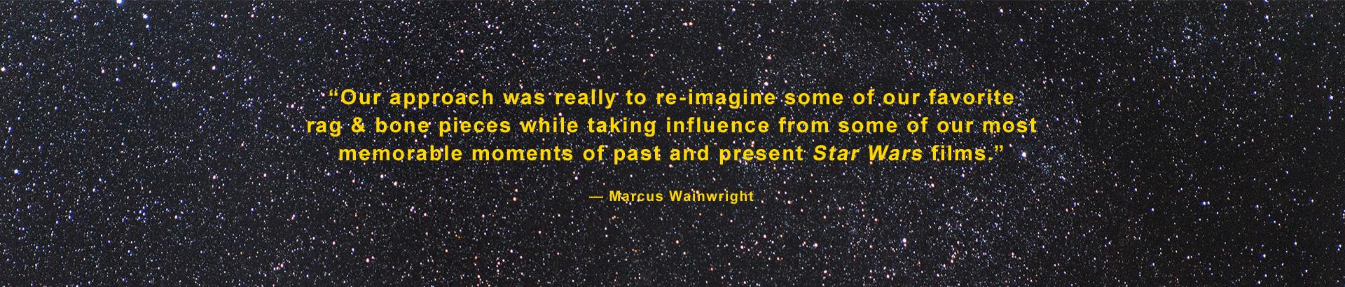 Rag & Bone Star Wars Quote