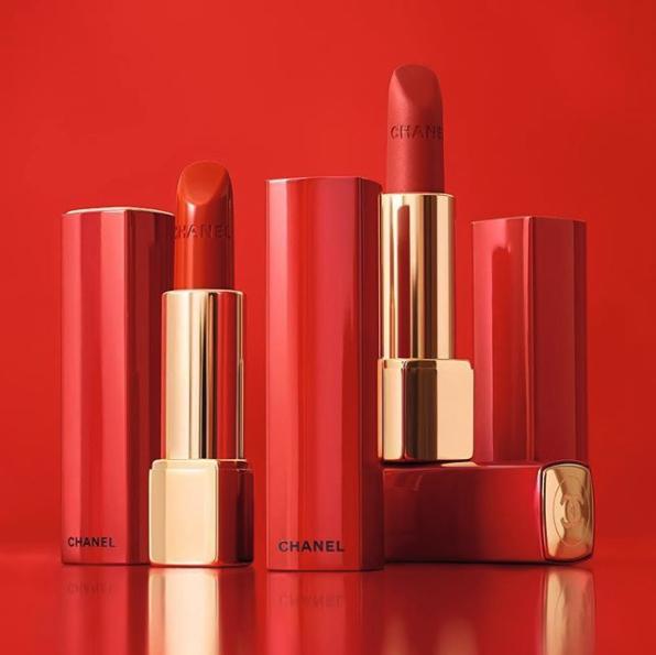 Lily-Rose Depp Chanel Lipstick