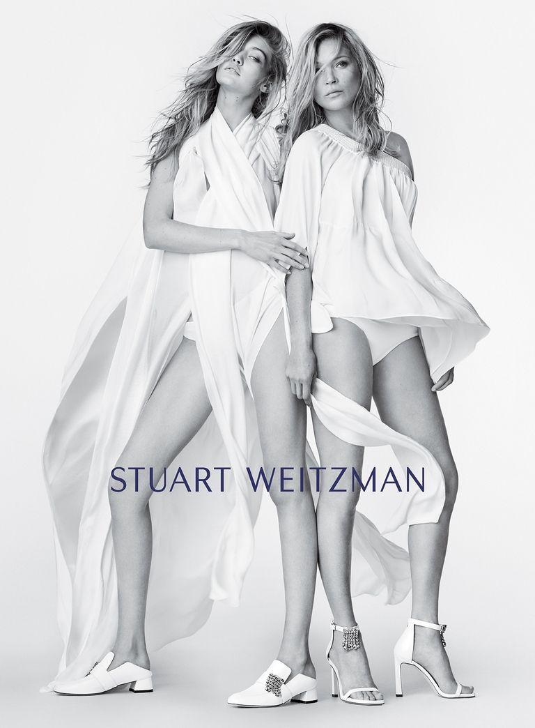 Kate Moss and Gigi Hadid