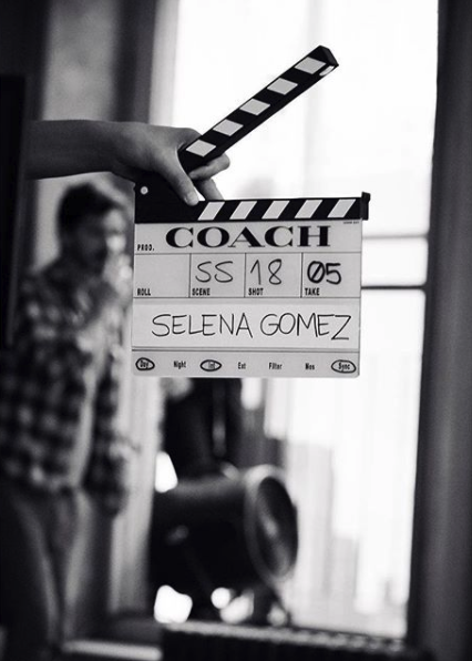 Selena Gomez Coach Spring 2018