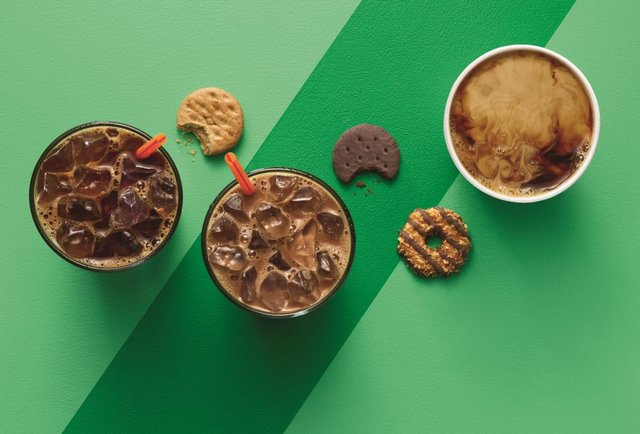 Dunkin Donuts Girl Scouts