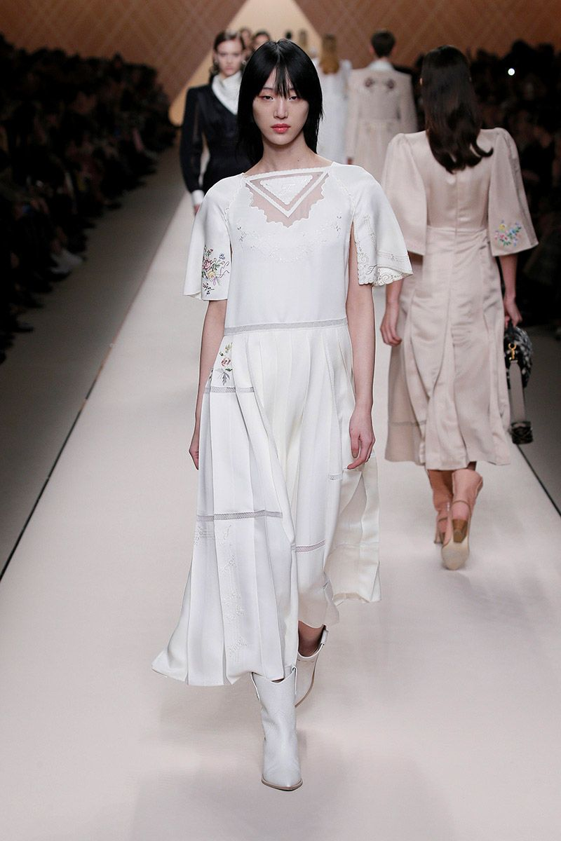 Fendi Fall 2018 Milan Fashion Week