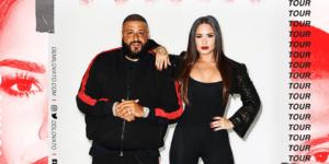 Demi Lovato and Dj Khaled Live Concert