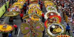 Flower Festival in Medellin Colombia