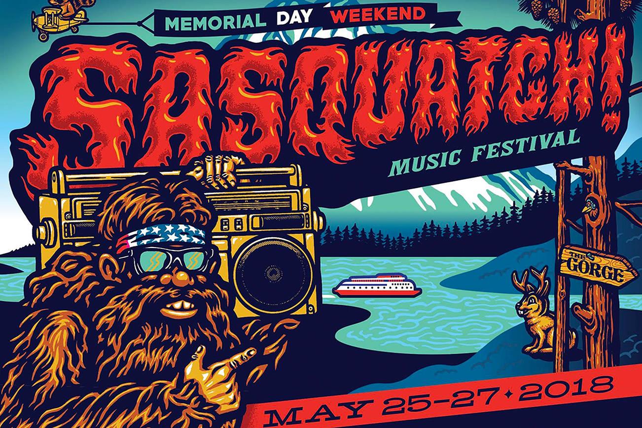 Sasquatch 2018