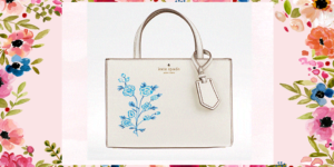 Hand-Painted Kate Spade Bag