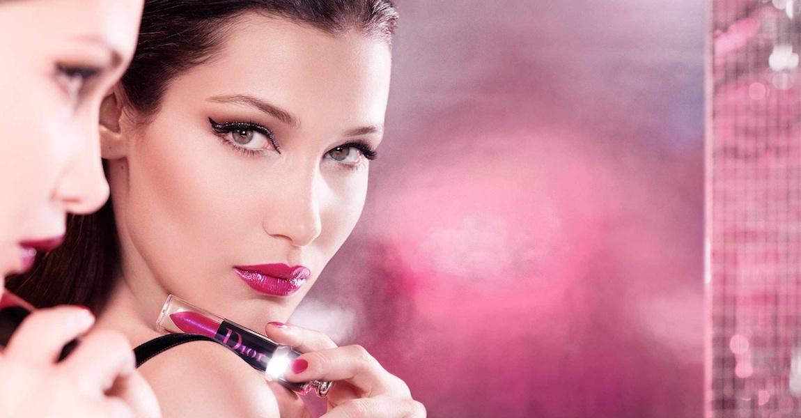 Dior Addict Lacquer Plump Campaign Video Stars Model Bella Hadid