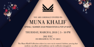 Muna Khalif Pop-Up Shop