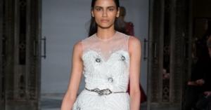 Mimi Tran Snowflake Collection Fall 2018 London Fashion Week