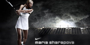 Maria Sharapova at Nike the Grove