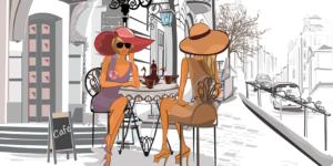 Off-White x Le Bon Marche's Pop-Up Cafe