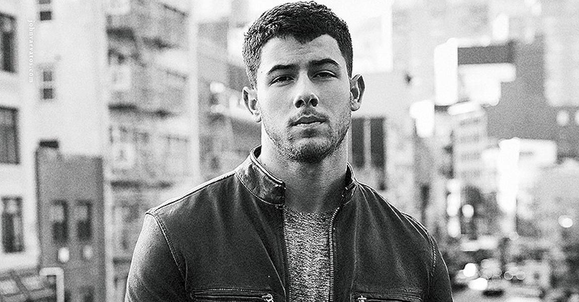Nick Jonas John Varvatos