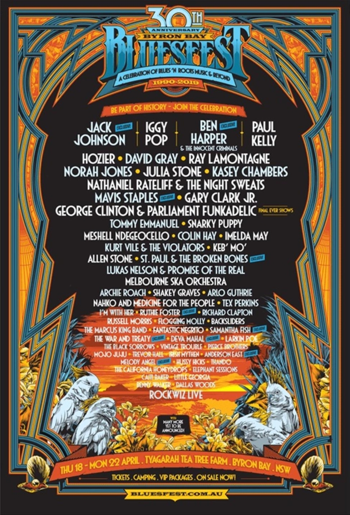 Byron Bay Bluesfest 2019