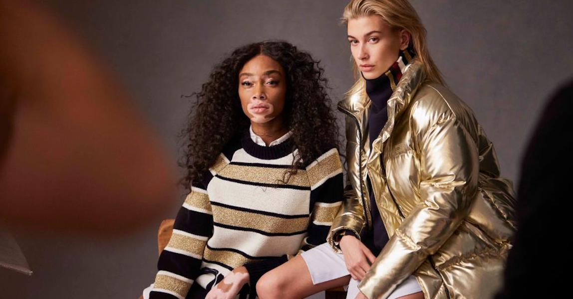 Hailey Baldwin Winnie Harlow Tommy Icons
