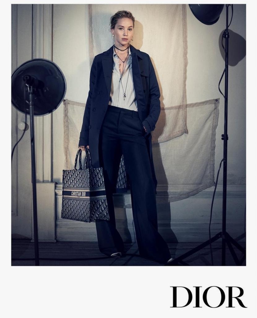 Jennifer Lawrence Dior Pre-Fall 2018 Campaign