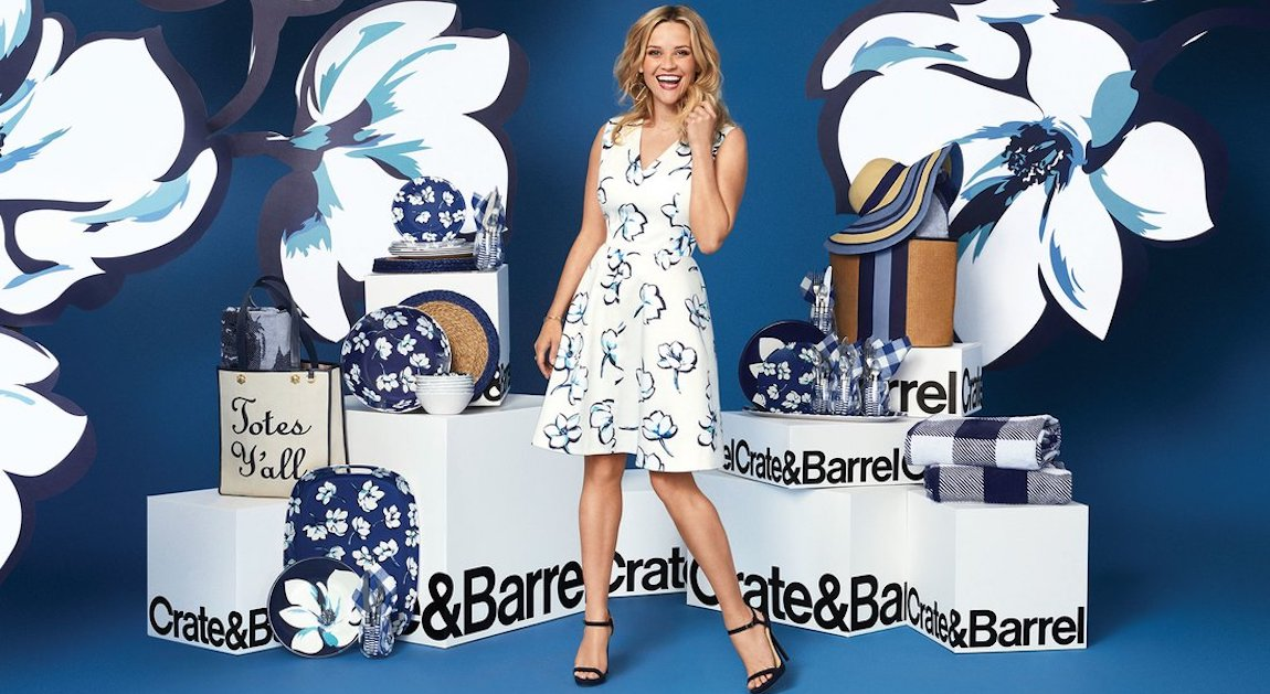 Reese Witherspoon Draper James Crate & Barrel