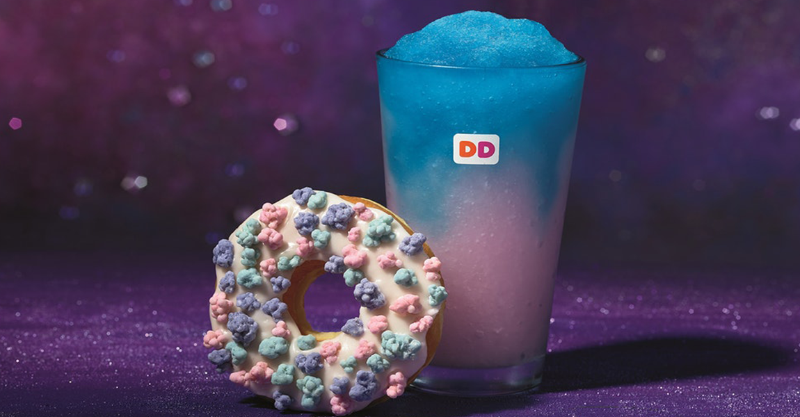 Dunkin Donuts New Galaxy-Inspired Menu