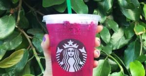 Mango Dragonfruit Starbucks Refreshers