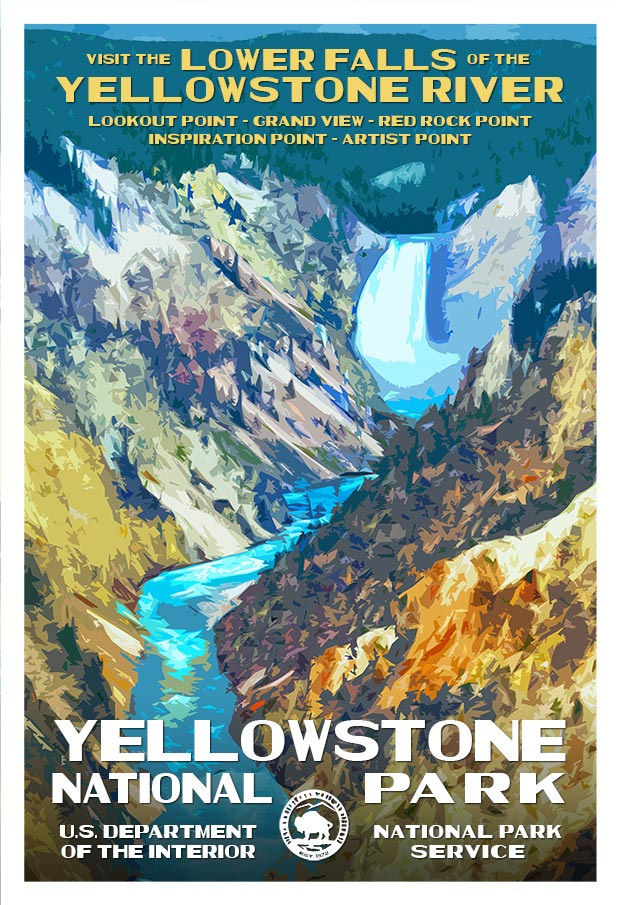 Rob Decker National Parks Posters