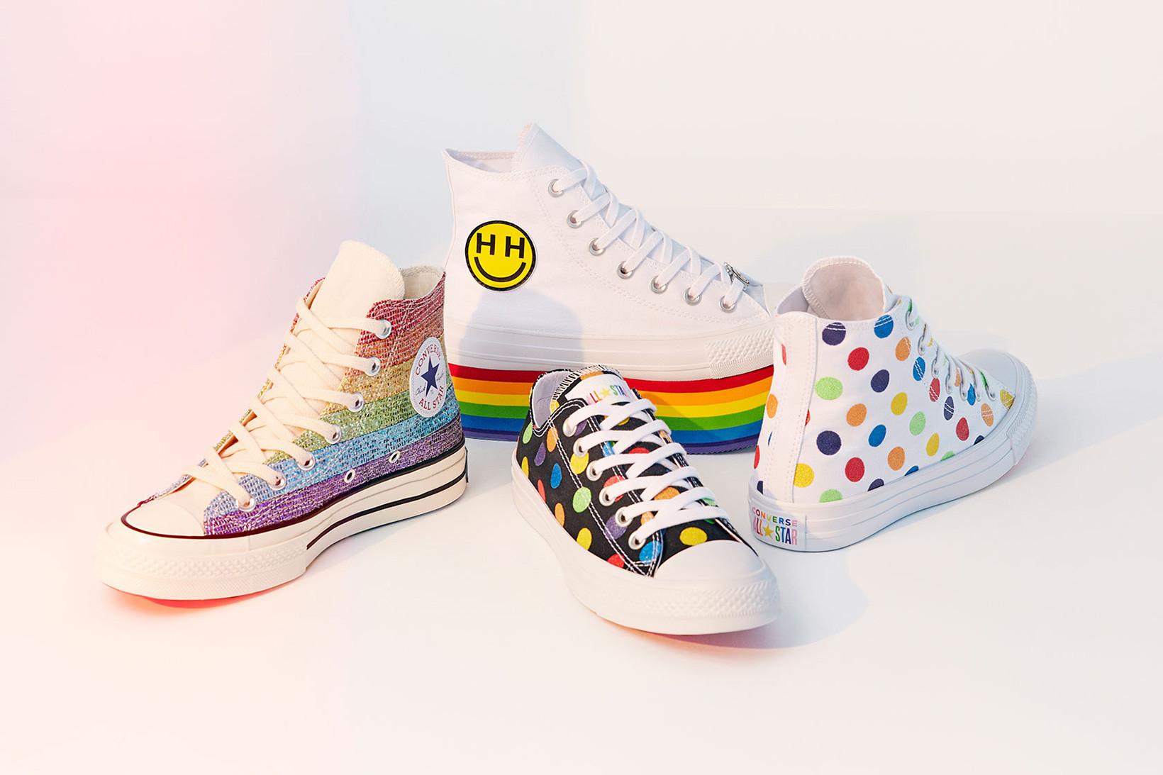 Miley Cyrus Converse Pride
