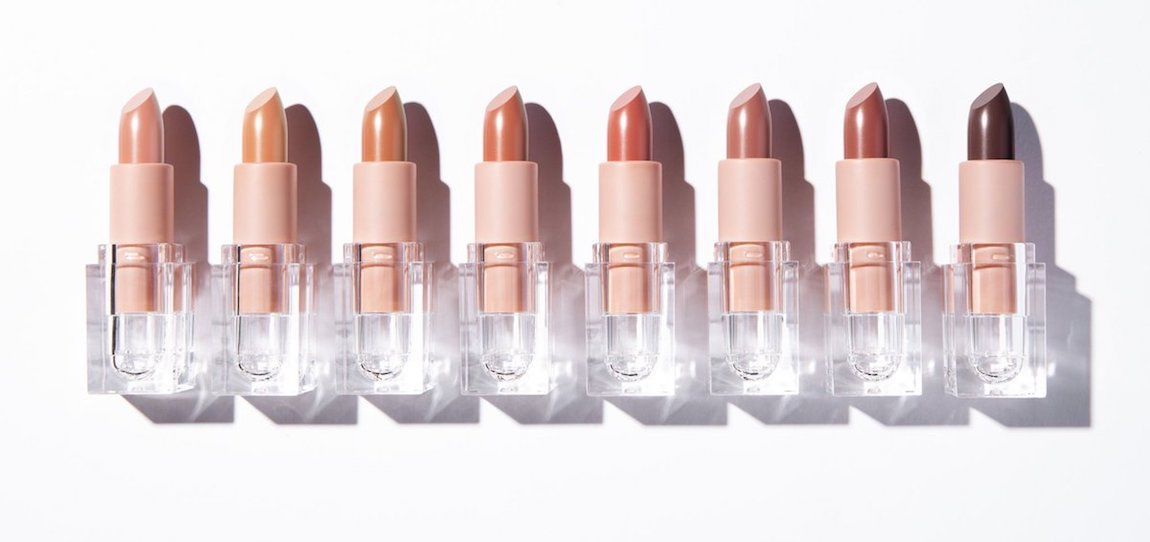 KKW Beauty nude lipsticks