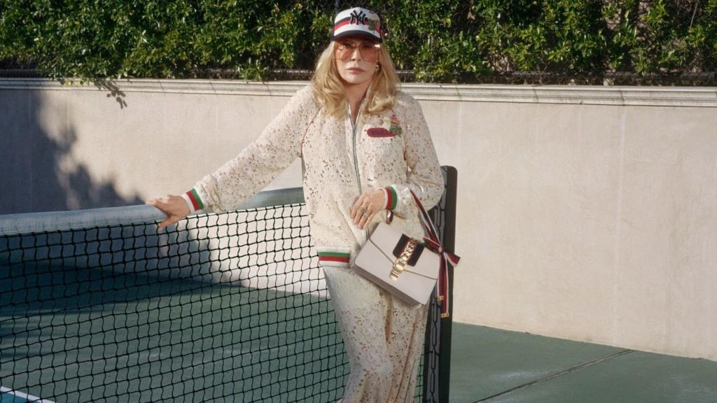 Faye Dunaway Gucci