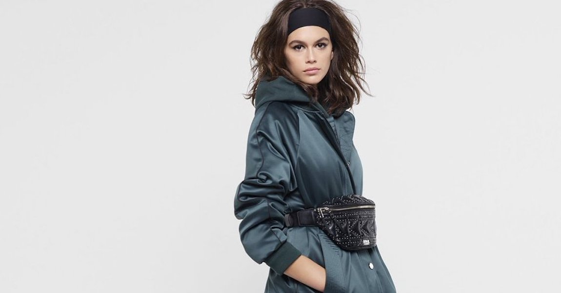Kaia Gerber Karl Lagerfeld Campaign
