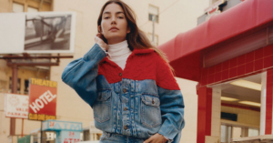 Lily Aldridge Levi's Made & Crafted