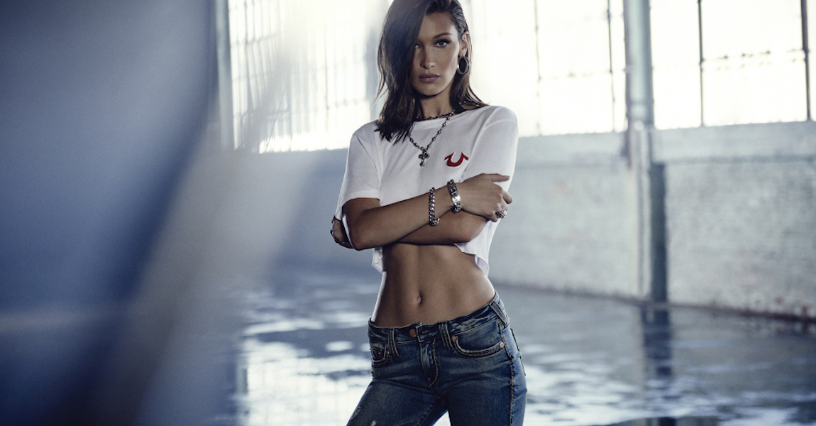 Bella Hadid True Religion
