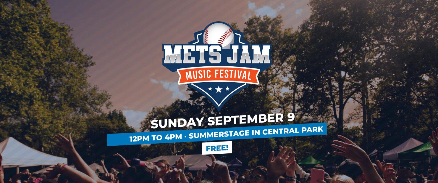 Mets Jam Music Festival