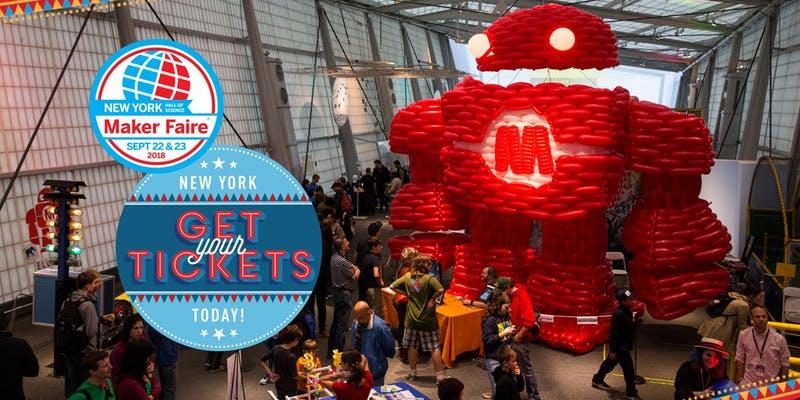 World Maker Faire New York 2018