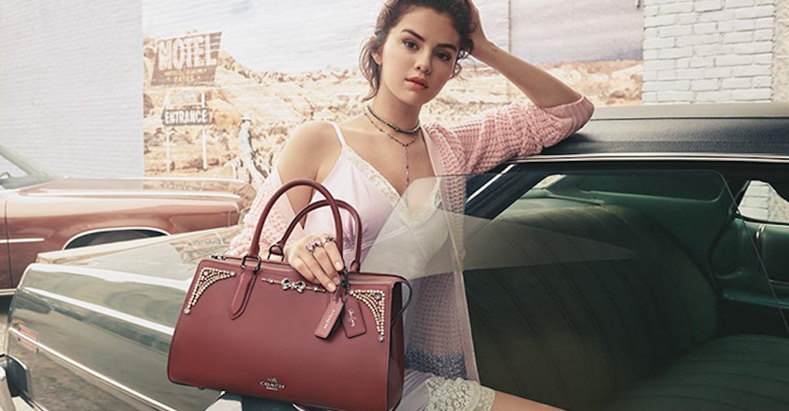 Coach x Selena Gomez Collection