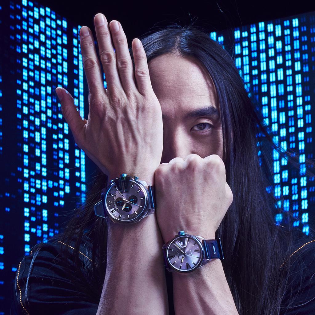 Steve Aoki Diesel Watch