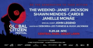 Global Citizen Festival 2018 NYC