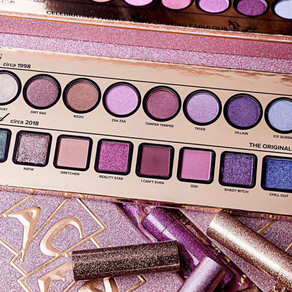 Too Faced 20th Anniversary