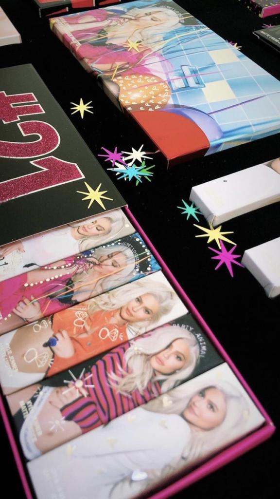 Kylie Cosmetics 21st Birthday