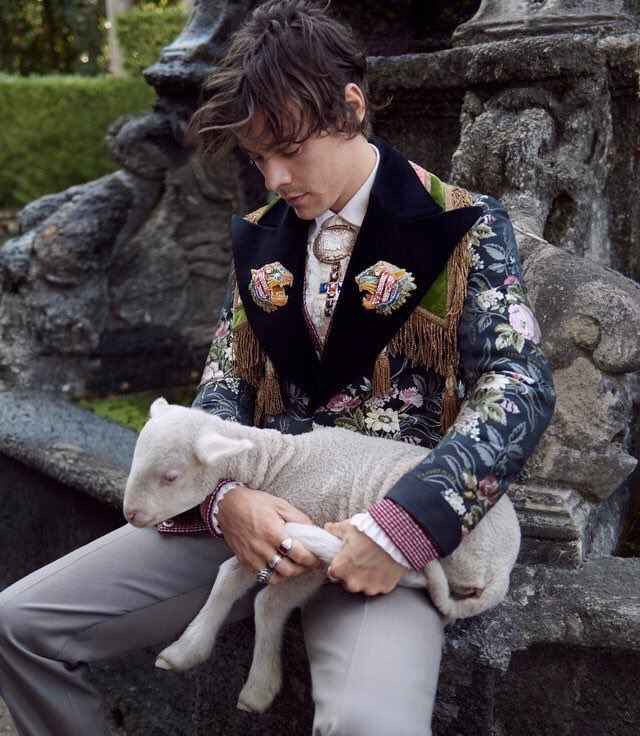 Harry Styles Gucci Cruise 2019 Tailoring
