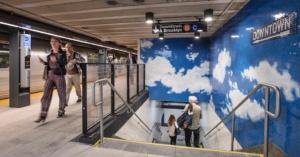 Yoko Ono Subway Art