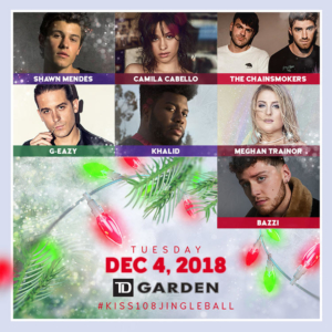 KISS 108's Jingle Ball 2018